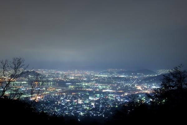 広島夜景熊野串掛林道