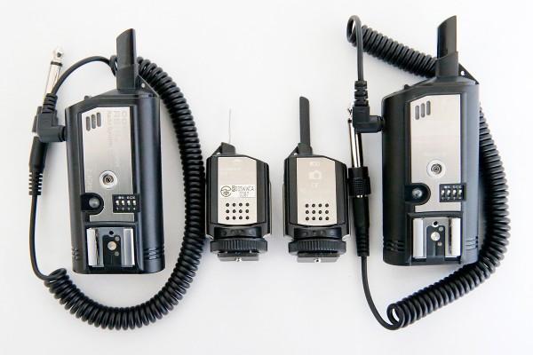 COMET RS-Transmitter/Receiber と Impact PowerSync16
