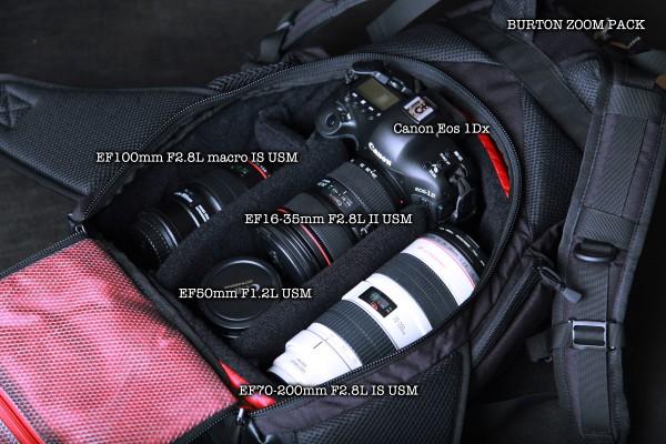 バートン ズームパック 1Dx burton zoom pack